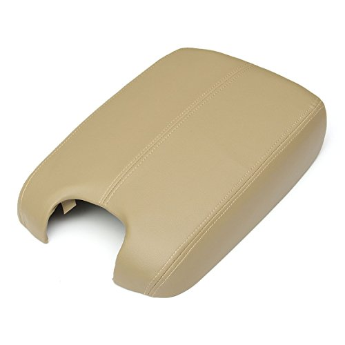MATCC Synthetic Leather (Vinyl) Plastic Center Console Armrest Lid for 2008-2012 HONDA ACCORD Beige (Center Arm Rest compare prices)