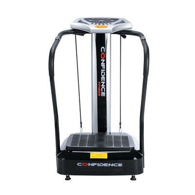 Confidence Fitness Slim Full Body Vibration Platform Fitness Machine, Black by Confidence (Image #1)