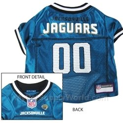 (Dog Supplies Jacksonville Jaguars Jersey Small)