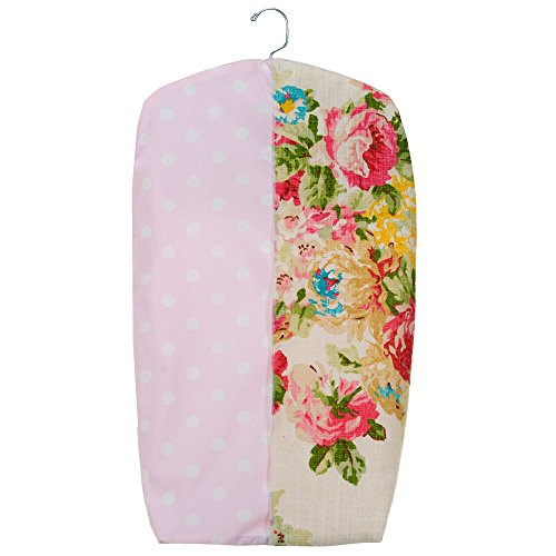 Charlotte Floral and Polka Dot Diaper Stacker by Glenna -