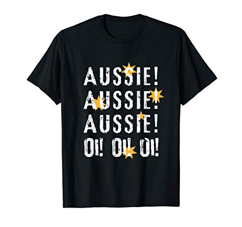 AUSSIE! AUSSIE! AUSSIE! Oi! Oi! Oi! Chant Australia Day Tee (Best Small Bbq Australia)