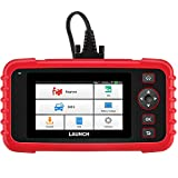 LAUNCH Scan Tool CRP123X OBD2 Scanner Check Engine ABS SRS Transmission Code Reader Car Diagnostic Tool, Android 7.0-Based Wi-Fi One-Click Free Updates, 5.0'LCD Touchscreen, Upgrade Version of CRP123