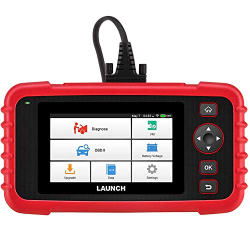 LAUNCH Scan Tool CRP123X OBD2 Scanner Check Engine ABS SRS Transmission Code Reader Car Diagnostic Tool, Android Based Wi-Fi Free Updates, AutoVIN, 5.0