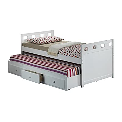Broyhill Kids Breckenridge Captain's Bed with Trundle Bed and Drawers
