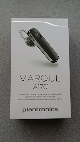 Plantronics Bluetooth Pairing (Plantronics Marque A170 Bluetooth Headset w/ 2-in-1 Car + USB Charger)