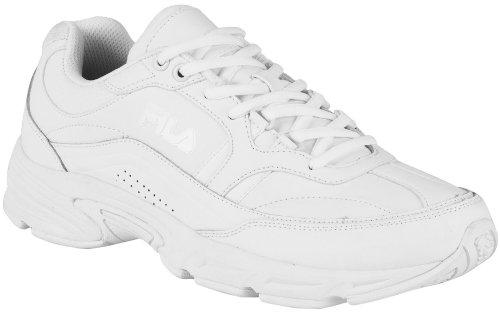 Fila Men's Memory Workshift Sneakers,White,8.5 W