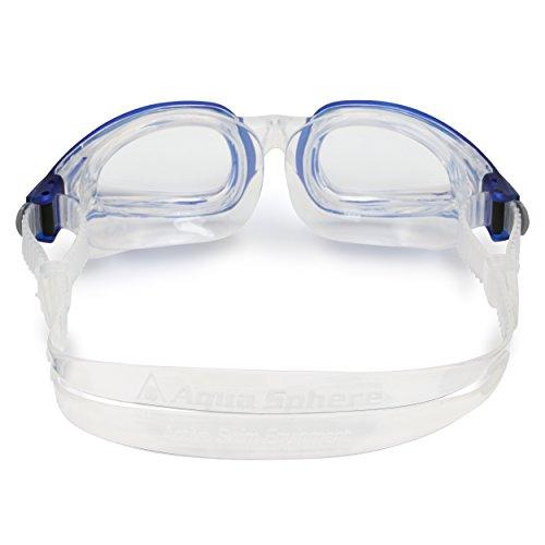 5ed146b24754 Aqua Sphere - Occhialini da Nuoto Eagle intercambiabili, Colore: Blu,  Unisex Adulto, Sphere Eagle, Bianco, L: Amazon.it: Sport e tempo libero