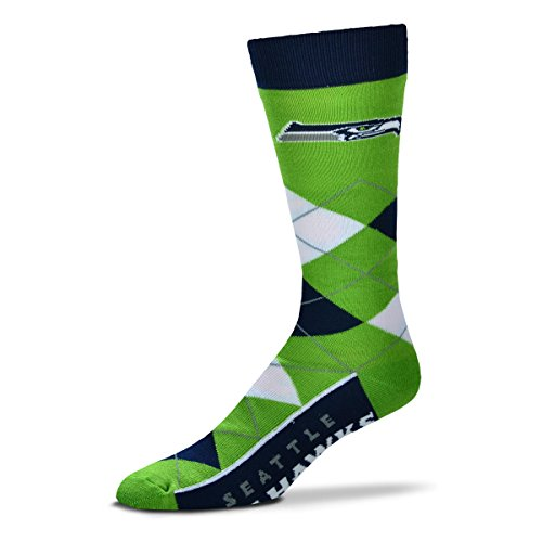 Seattle Seahawks Argyle Unisex Crew Cut Socks