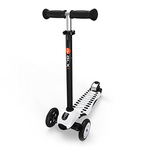 YBIKE GLX Pro Scooter, White/Black, 12cm ()