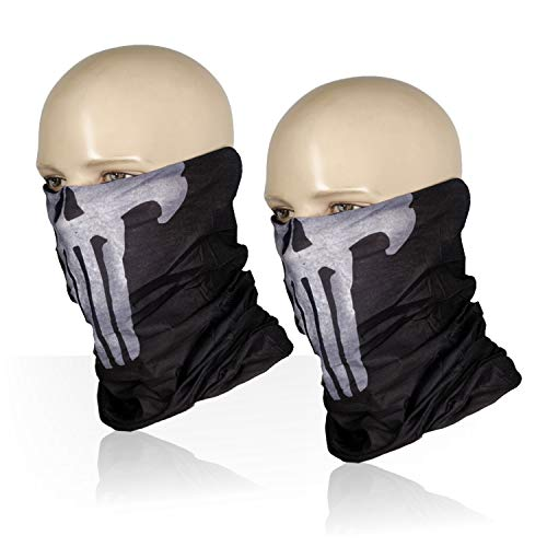 M-Tac Punisher Skull Mask Bandana Headband Scarf Gaiter
