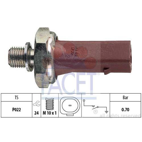 Facet 7.0132 Interruptor de control de la presió n de aceite