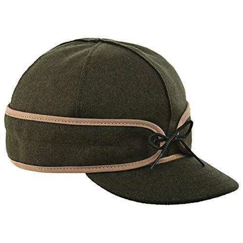 Stormy Kromer Original Kromer Cap - Winter Wool Hat with Earflap Olive from Stormy Kromer