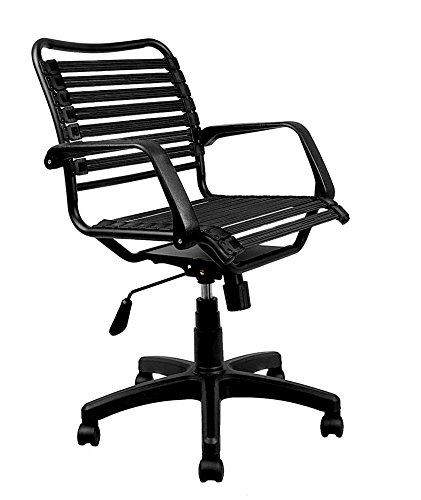 office large black chair from com aluminum collections computerdesk bungee chairs armless