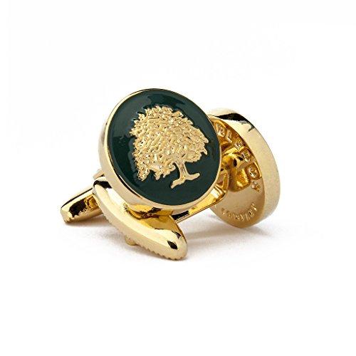 The Royal Oak Men's Cufflinks by Wimbledon Cufflink Company