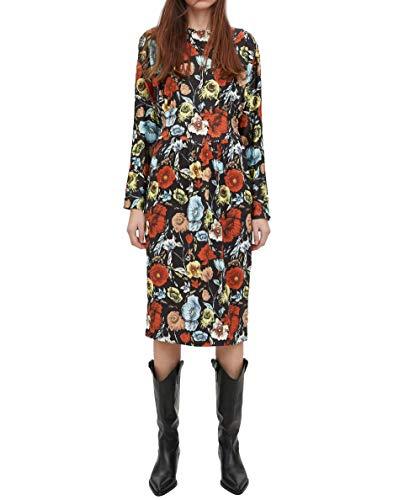 0085 Zara Fleurs Robe 306 Imprimée Femme Xi81w0qn5 nO80kXNwPZ