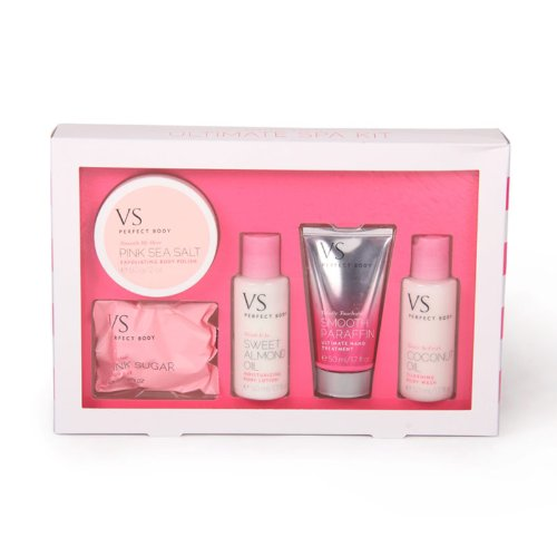 Spa Set 5 Piece (New for 2013 VS Perfect Body Ultimate Spa Kit-5 Piece Set)