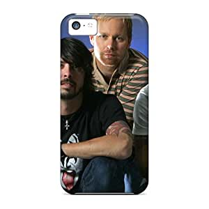 Great Hard Phone Cases For Iphone 5c (Qqd5654KpWX) Provide Private Custom Stylish Foo Fighters Series