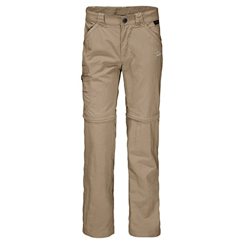 Jack Wolfskin Safari Zip Off Pants K Pants, 92 (18-24 Months Old), Sand Dune - 20% Off Zip