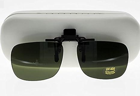 Montana Gafas Sonnenglasvorhänger/clip de gafas de gafas de plegar con lentes polarizados verdes
