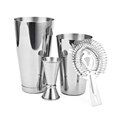 Boston Shaker Set for All Your Cocktail Mixing Needs  Enhance Your Cocktail Creation Process Now! - Do you regularly entertain your family and friends but lack the bar tools to inspire? - Tired of paying for overpriced cocktails at a bar? - A...