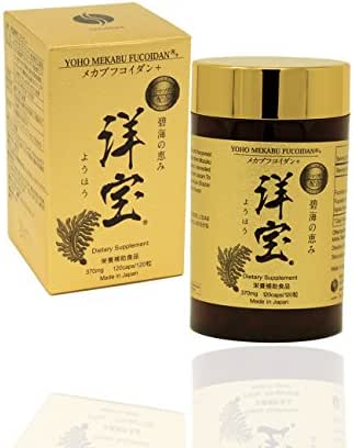 Yoho Mekabu Fucoidan Made in Japan (120 Capsules Ct.)