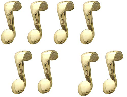 - Lot of Eight (8) Picture Rail hangers, handmade of Solid Brass with PROTECTIVE Top coat. The pictures will tell the full story of the exception product.