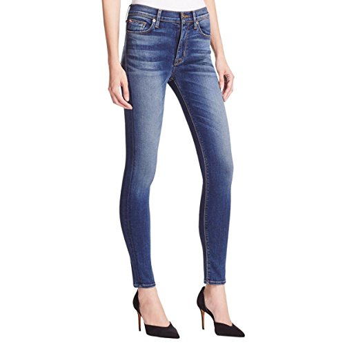 Low Rise Flare Destroyed Jeans - 5