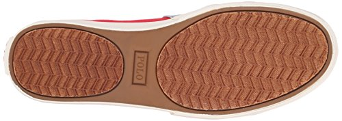 Polo Ralph Lauren Mens Hugh Fashion Sneaker Rl2000 Rosso