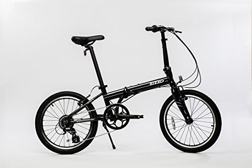 EuroMini Urbano 24lb Lightest Aluminum Frame Genuine Shimano 8-speed 20' folding bike (Gray)
