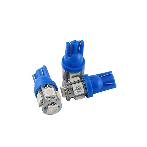 Smd 501 W 5 Bright X Ampoule 10 W5 Led Super 5050 Bleu T10 Grandview BQedCrWox