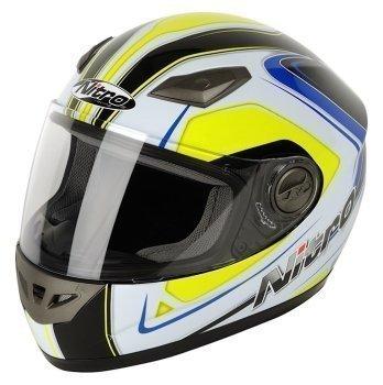 Nitro Vertice casco negro/amarillo 2013 - grande