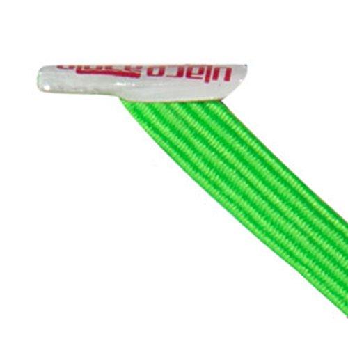 U-Lace Mix N Match–Maletín cordones, color Verde - verde neón