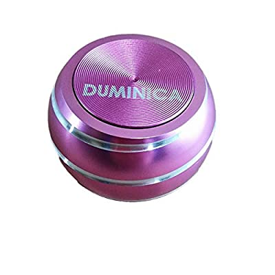 DUMINICA Spinning Tops, Novelty Spinning Tops with Optical Illusion, Metal Fidget Spinning Ball for Adults (Pink): Toys & Games