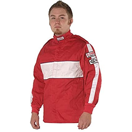 G-Force 4385CSMRD GF 505 Red Child Small Triple Layer Racing Jacket