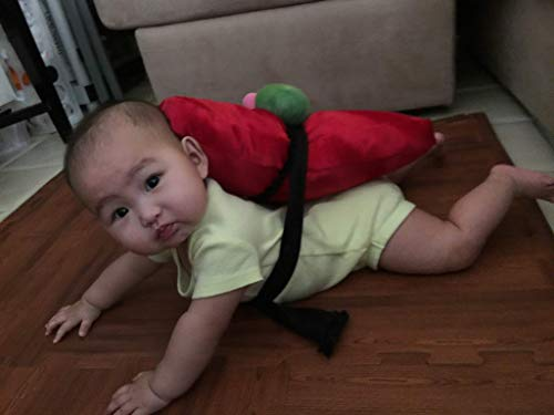 Baby Sushi Costume Tuna Nigri]()