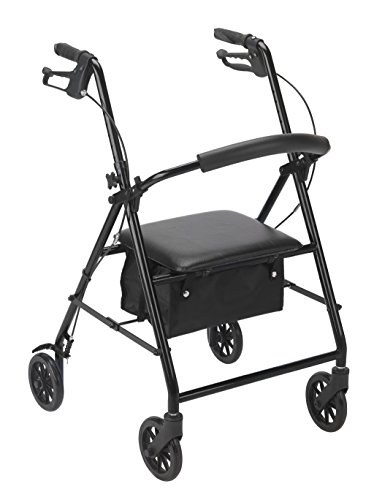 Drive Medical Rollator Wheels Black