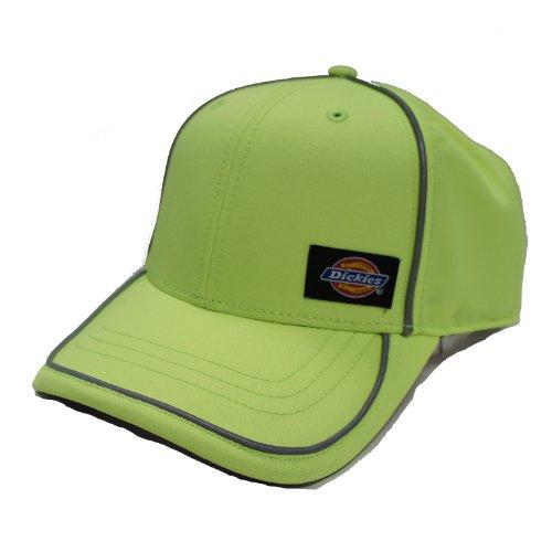 Dickies Men's High Vis Adjustable Cap, Hi Vis Yellow, One Size - Clayton Cap