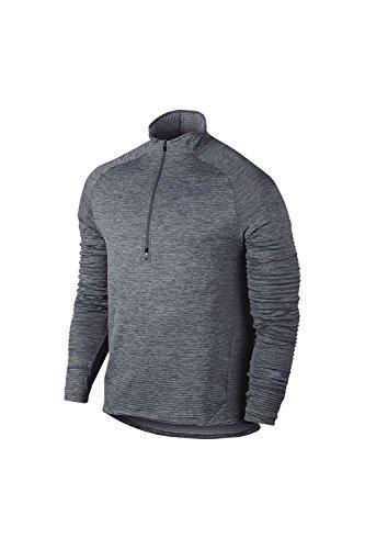 Nike Men's Sphere Element Running Top, Grey (SMALL)