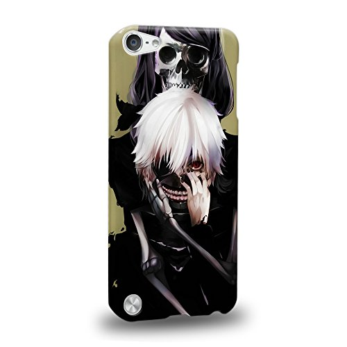 Case88 Premium Designs Tokyo Ghoul Kaneki Ken Protective Snap-on Hard Back Case Cover for Apple iPod Touch 5