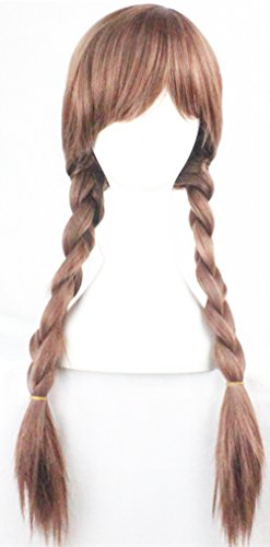 Braided Pigtail (70CM Braided Pigtail Anime Cosplay Fancy Party Costume Full Wigs for Grils)