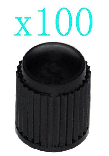 Cutequeen 100pcs Black Plastic Wheel product image