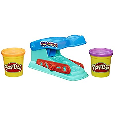 Play-Doh Basic Fun Factory Shape Making Machine with 2 Non-Toxic Play-Doh Colors: Toys & Games