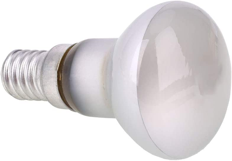AOLUNO Reflector Spot Light Filament 30W R39 Bulb Lava Lamp E14 Screw SES,Clear 1 PCS