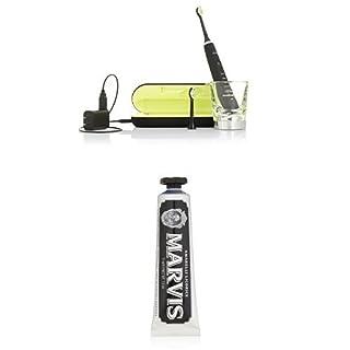 Philips Sonicare DiamondClean Sonic Electric Toothbrush, Black and Marvis Amarelli Licorice Mint Toothpaste, 3.8 Oz (B01DJNUN7E) | Amazon price tracker / tracking, Amazon price history charts, Amazon price watches, Amazon price drop alerts