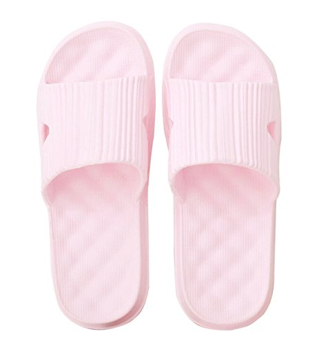 Women Slippers Anti Sandals On Casual Pink Sole for Shower Pool Shoes Slip Foams Men House Slip Slippers Bathroom Soft Unisex and tH4wxtqvg