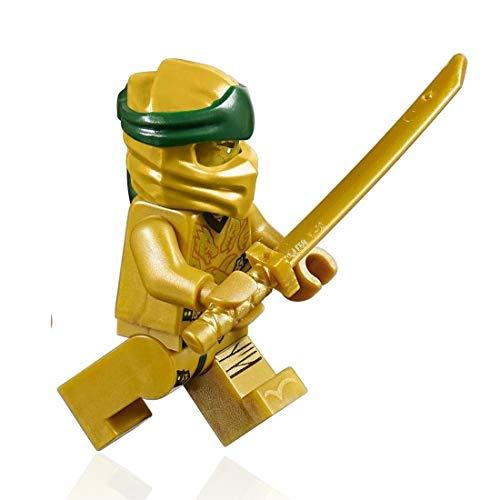LEGO Ninjago Minifigure - Lloyd Garmadon Legacy (Gold Ninja with Sword)]()