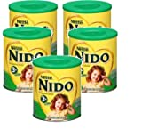 Nestle NIDO 3+ Powdered Milk Beverage 1.76 lb Canister (Pack of 5)