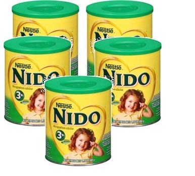 Nestle NIDO 3+ Powdered Milk Beverage 1.76 lb Canister (Pack of 5) by Nido (Image #7)