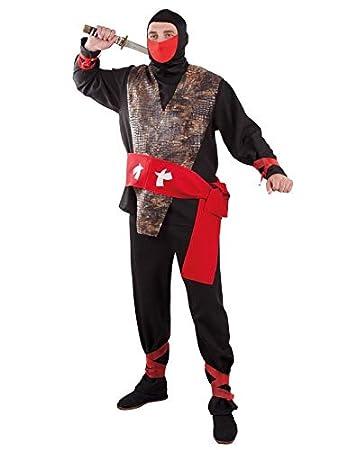 DISBACANAL Disfraz de Ninja - -, XL: Amazon.es: Juguetes y juegos