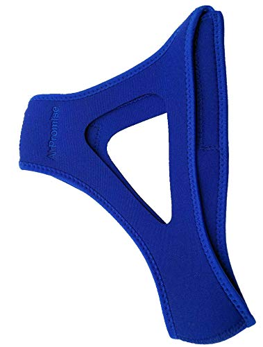 Adjustable Stop Snoring Chin Strap (Blue)